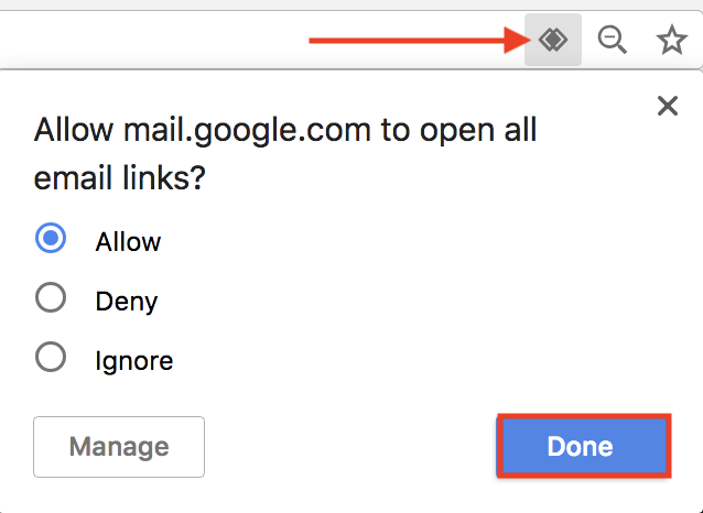 How to make gmail default mail app in Google Chrome on Mac